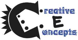 Logo for Creative E-Concepts - Email Marketing, Blogging, Web Content, Social Media Marketing and More
